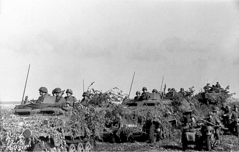 Lehrfilm, 기갑 척탄병(panzergrenadier)의..