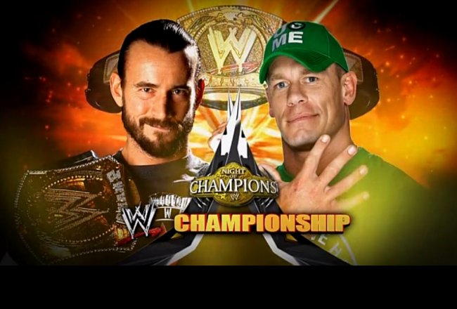 WWE Night Of Champions 2012 후기
