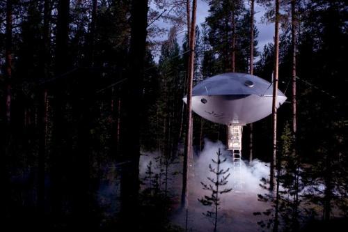 스웨덴: 로망의 호텔 Treehotel