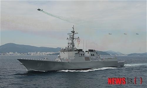 대한민국 해군의 세 번째 이지스함 `서애 류성룡함`