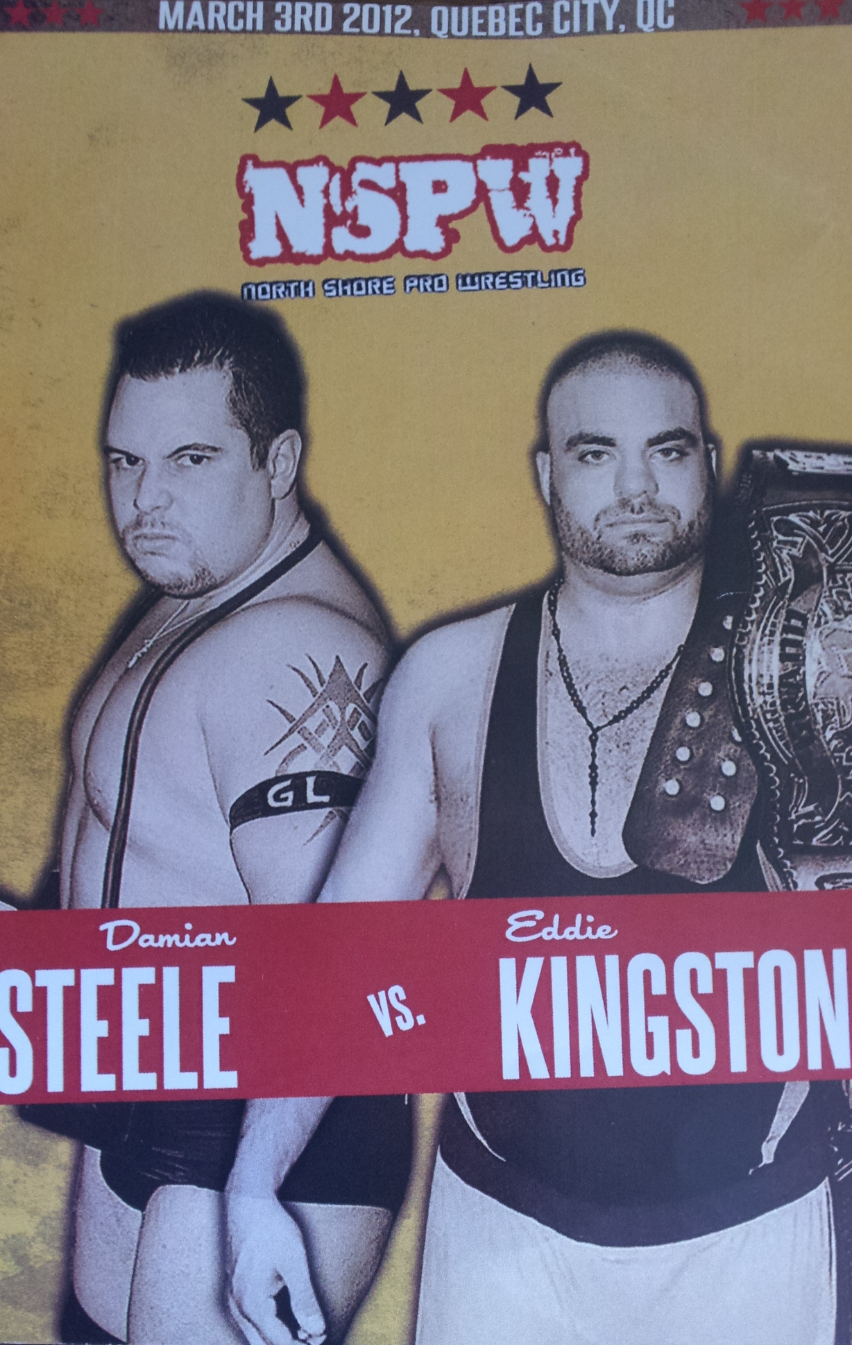 NSPW 2012.03.03 Steele vs. Kingston 리뷰