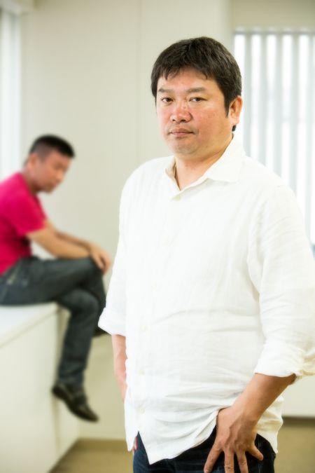 10월 신작 '사이코 패스' 관련, 우로부치 겐씨와 모..